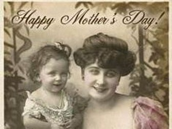 Mother's Day worksheets 1