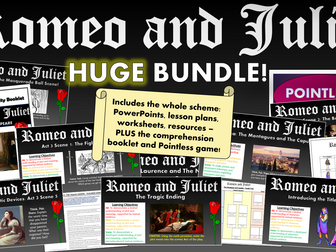 Romeo and Juliet Huge Bundle!