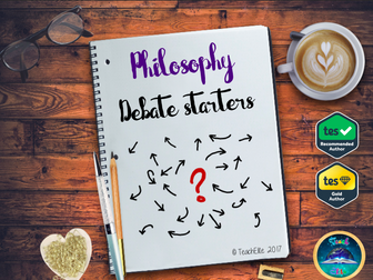 Back To School - Philosophical Questions P4C Debate starters.