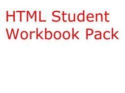 Teaching HTML Resource Bundle
