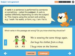 Standard English Interactive Teaching Presentation - Year 4 Spag