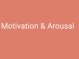 A-Level PE (OCR) Motivation and Arousal (Powerpoint and Full Resources)