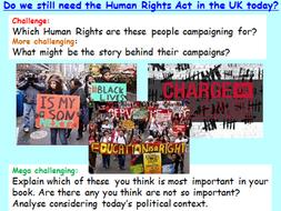 GCSE Citizenship Human Rights