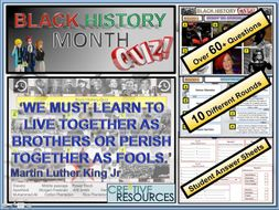 Black History Month 2019 Quiz