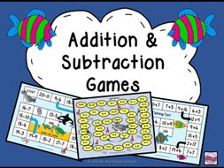 Maths Addition Games and Subtraction Games Within 20