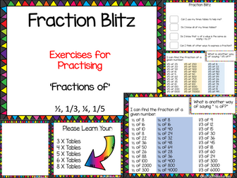 Fraction Revision