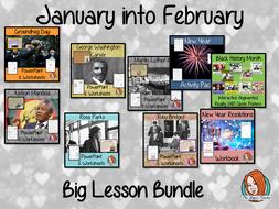 January into February Seasonal Products Bundle