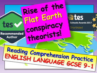 Reading Comprehension - Flat Earthers