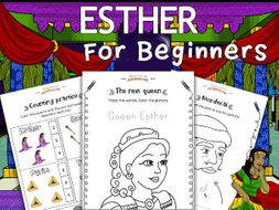 FREEBIE: Esther activity pack for Beginners