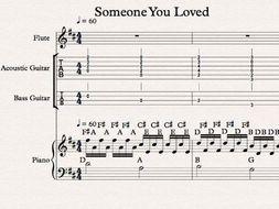 Someone You Loved Lewis Capaldi arrangement