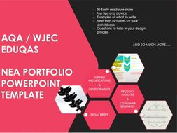 DT GCSE  NEA portfolio presentation template