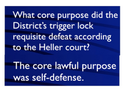 Jeopardy Law Game HELLER v. DISTRICT Second Amendment Guns Right Bear Arms