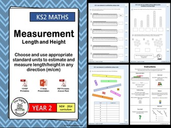 Year 2 – Measurement - Length & Height – Estimate and measure - WRM - Block 5 - Wk 11 (INC. MASTERY)
