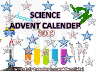 Science Christmas Advent Calender
