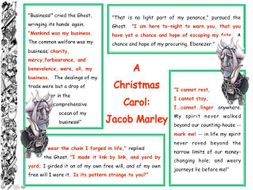A Christmas Carol - Key Quotations A3 Printable posters x 8 GCSE Literature | Teaching Resources