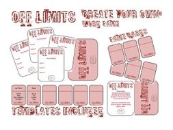 Off Limits: Fast Paced Description Game for Learning Key Vocabulary!