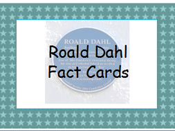 Roald Dahl Fact Cards