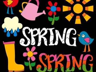 Spring is in the air clipart - Fun spring clip art