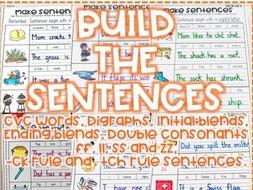 Build the sentence!