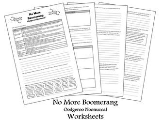 No More Boomerang - Oodgeroo Noonuccal - Worksheet