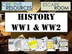 World War II History Escape Room