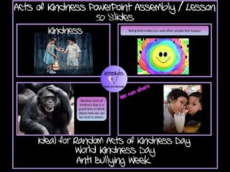 Random Acts of Kindness Primary Assembly