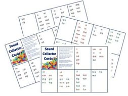 Phonics for SEN: Sound Collector Cards 1 - Basic Sounds Sets 1-7