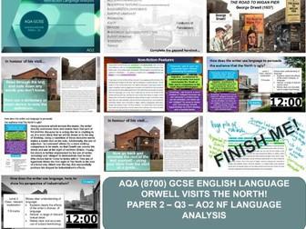 AQA 8700/2 English Language - AO2 - Analysis (Orwell Wigan 1937)