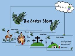 A simple Easter Story Powerpoint Show