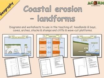 Geography - Coasts - Erosion - Coastal Landforms