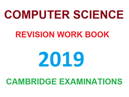 CIE Computer Science revision worksheet