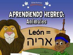 Aprendiendo Hebreo: Animales (SPANISH)