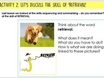 Year 5/6: Whole Class Reading - Land of Roar 2-3 - retrieval -  SATS STYLE Qs