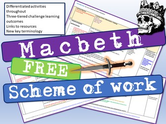 Macbeth Scheme of Work