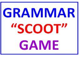 "Grammar ""SCOOT"" Game (All Inclusive)"