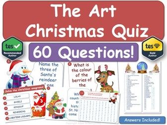 Art Christmas Quiz!