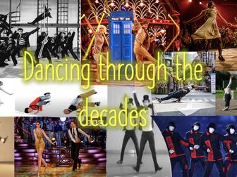 Dancing through the decades- Dance scheme of work