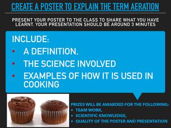 Food Science group task/Key words