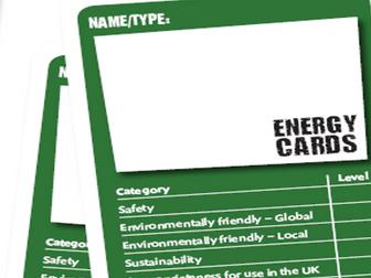 Energy card game