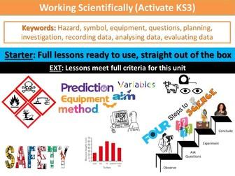 Working Scientifically (Activate KS3)