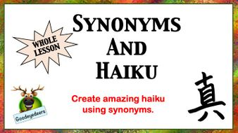 Haiku-and-Synonyms.pptx