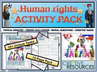Human Rights Day KS3 and KS2 Activity Pack