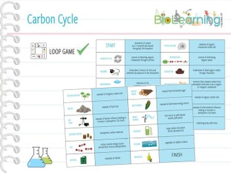 Carbon Cycle - Loop Game (KS5)