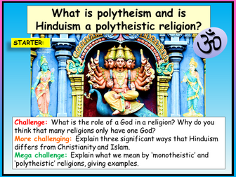 Hinduism and Polytheism