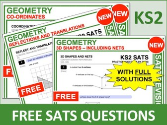 Maths SATs Bundle (Geometry)