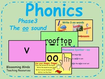 Phonics Phase 3 - The 'oo' sound