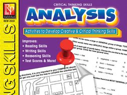 Analysis: Critical Thinking Skills