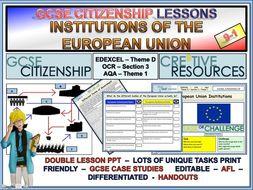 EU Institutions x 2 lessons - European Union