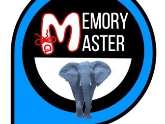 Executive Functioning Card Game: Memory Master