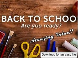 Back to School - Are You Ready?
